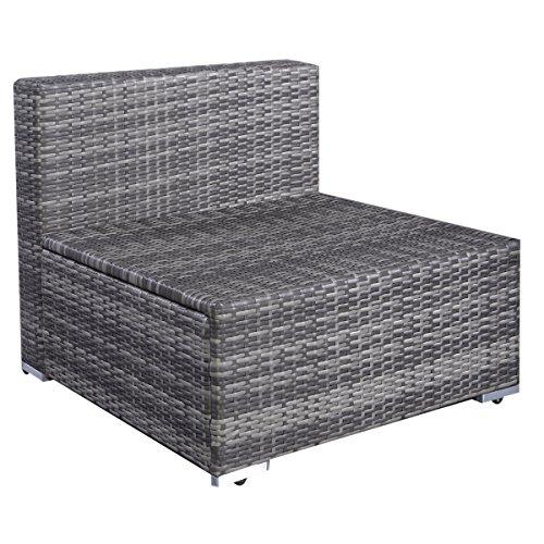 13tlg lounge set gartenm bel rattan set polyrattan. Black Bedroom Furniture Sets. Home Design Ideas