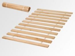 90x200 Rollrost 11 Leisten nicht verstellbar unverstellbar Rolllattenrost Fichtenholz -