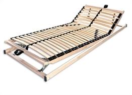 Betten-ABC Max1 K + F, Lattenrost, fertig montiert, mit Kopf- und Fußteilverstellung, Holm durchgehend, Größe 100 x 200 cm -