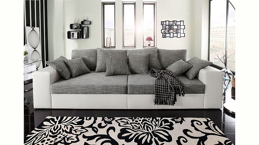 big sofa wahlweise in xl oder xxl. Black Bedroom Furniture Sets. Home Design Ideas