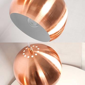 CAGÜ - DESIGN 3er SET HÄNGELAMPE [GLOBUS] KUPFER a 20cm Ø -