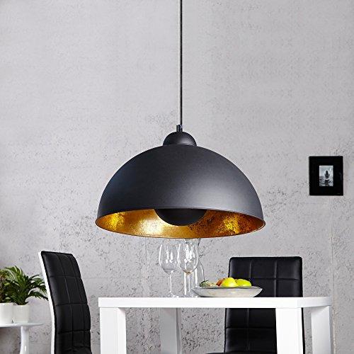 Cag design h ngelampe spot schwarz gold 55cm for Moebel24 shop