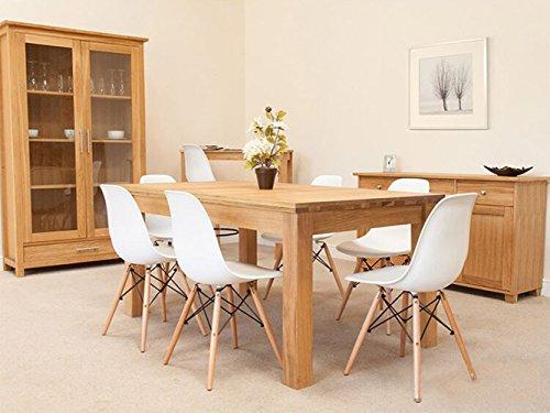 charles ray inspiriert eiffelturm retro design wood style stuhl f r b ro lounge k che wei 4. Black Bedroom Furniture Sets. Home Design Ideas