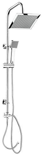 CON:P Carballo Duschsystem, eckig, SA330101 -