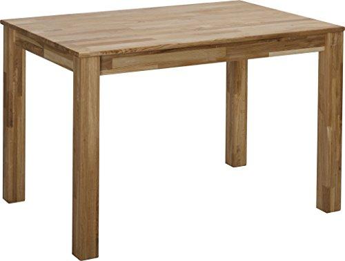 esstisch massivholz eiche 100 fsc bonn esszimmertisch massivholz tisch 110 x 75 x 75 cm. Black Bedroom Furniture Sets. Home Design Ideas