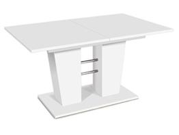 """Esszimmertisch Esstisch Auszugstisch Ausziehtisch Tisch Esszimmer """"Bomuli I"""" (Weiß) -"""