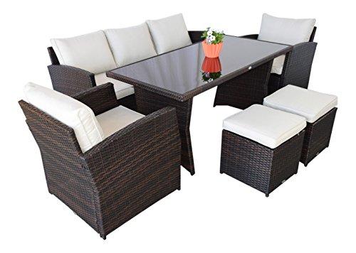 garten loungem bel havanna in dunkelbraun gartenm bel. Black Bedroom Furniture Sets. Home Design Ideas