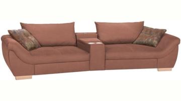 Home affaire XXL Big-Sofa »Orleans«, mit Relaxfunktion, Getränkehalter, wahlweise mit Soundsystem