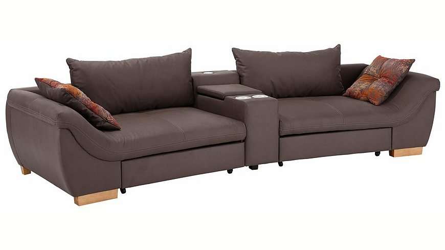 home affaire xxl big sofa orleans mit relaxfunktion getr nkehalter wahlweise mit soundsystem. Black Bedroom Furniture Sets. Home Design Ideas