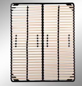 i-flair® Lattenrost, Lattenrahmen - für alle Matratzen geeignet - alle Größen (200cm x 200cm) -