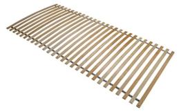 Interbett 800001 Lattenrost Roll 28, Rahmen, 28 Federholzleisten, fertig montiert, NV, 90 x 200 cm für alle Matratzen geeignet, metallfrei, bis 120 kg -