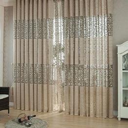 Jacquard Wirkerei Vorhänge für Fenster Wohnzimmer Die Sun Shading Vorhang -