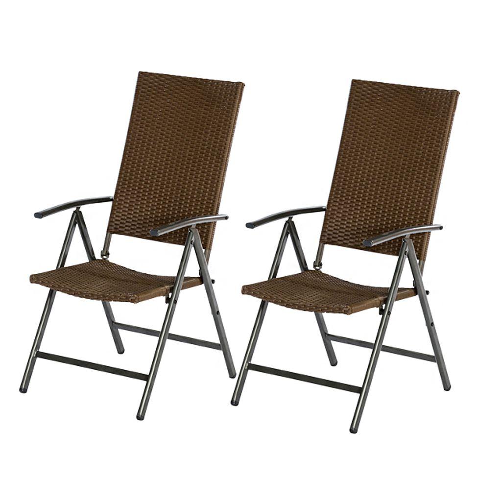 klappsessel pavia 2er set stahl kunststoff merxx. Black Bedroom Furniture Sets. Home Design Ideas