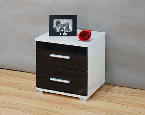labi m bel neli kommode nachttisch nachtschrank nachtkasten nachtk stchen nachtkonsole wie matt. Black Bedroom Furniture Sets. Home Design Ideas