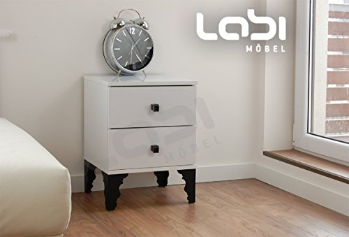 labi m bel verona schrank kommode nachttisch nachtschrank nachtkasten nachtk stchen nachtkonsole. Black Bedroom Furniture Sets. Home Design Ideas