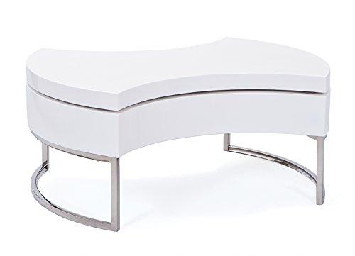 links 20800890 couchtisch wei hochglanz wohnzimmertisch. Black Bedroom Furniture Sets. Home Design Ideas
