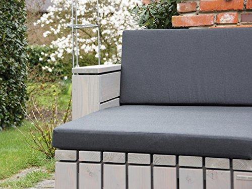 loungem bel set 7 holz inkl polster lieferung komplett montiert. Black Bedroom Furniture Sets. Home Design Ideas