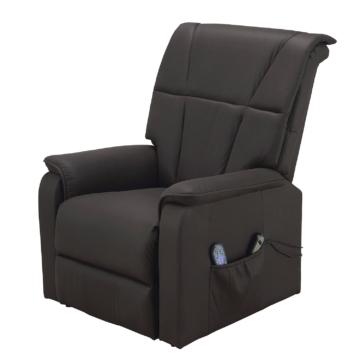 Massagesessel Cubillo - Microfaser - Schwarz, Nuovoform