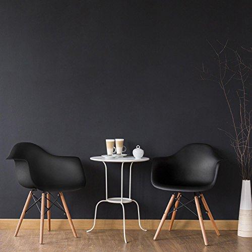 oneconcept bellagio schalenstuhl designstuhl retro stuhl 2er set 70er jahre retro. Black Bedroom Furniture Sets. Home Design Ideas