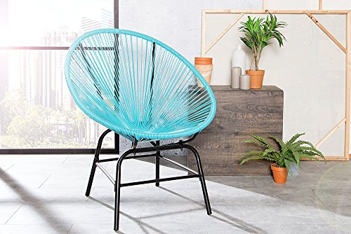 original retro acapulco chair t rkis blau mexico stuhl. Black Bedroom Furniture Sets. Home Design Ideas
