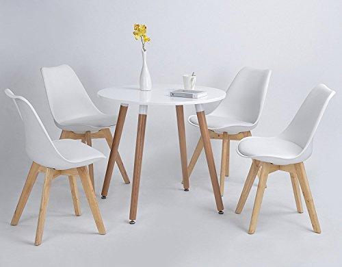 p n homewares lorenzo tulip stuhl kunststoff retro st hle wei schwarz grau rot gelb pink. Black Bedroom Furniture Sets. Home Design Ideas