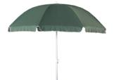 Profiline Aluminium Gartenschirm 240 cm, mit UV-Schutz 30 Plus, Knicker, höhenverstellbar, Farbe grün, 450151 -