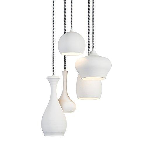 qazqa modern retro pendelleuchte pendellampe h ngelampe lampe leuchte drops 5. Black Bedroom Furniture Sets. Home Design Ideas