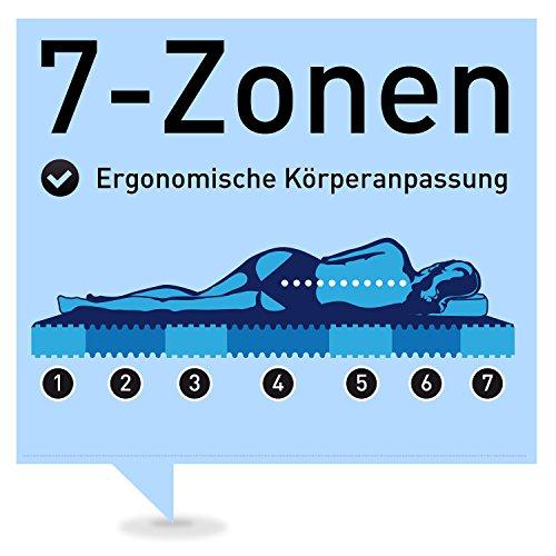 ravensberger 7 zonen natur latexmatratze latexco 85 natur h2 rg 75 45 80 kg medicott sg. Black Bedroom Furniture Sets. Home Design Ideas
