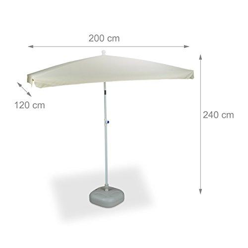 sonnenschirm rechteckig sonnenschirm balkon eckig lj74 hitoiro ampelschirm rechteckig 7 farben. Black Bedroom Furniture Sets. Home Design Ideas
