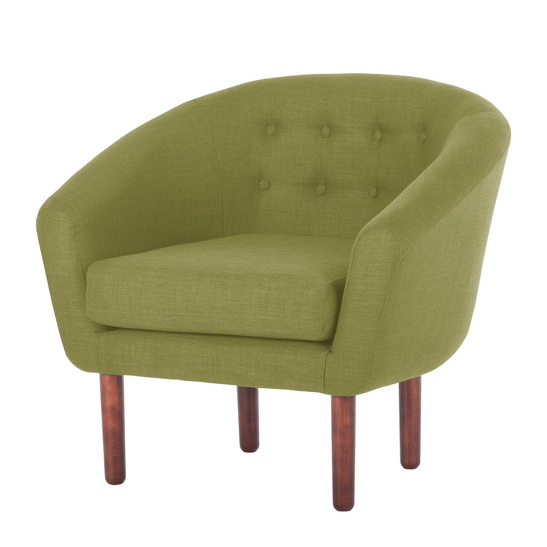 sessel anna i webstoff olivgr n morteens. Black Bedroom Furniture Sets. Home Design Ideas