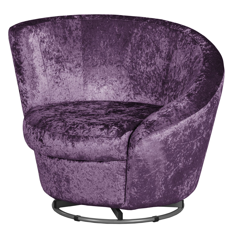 sessel baston samt aubergine mooved m bel24 online. Black Bedroom Furniture Sets. Home Design Ideas