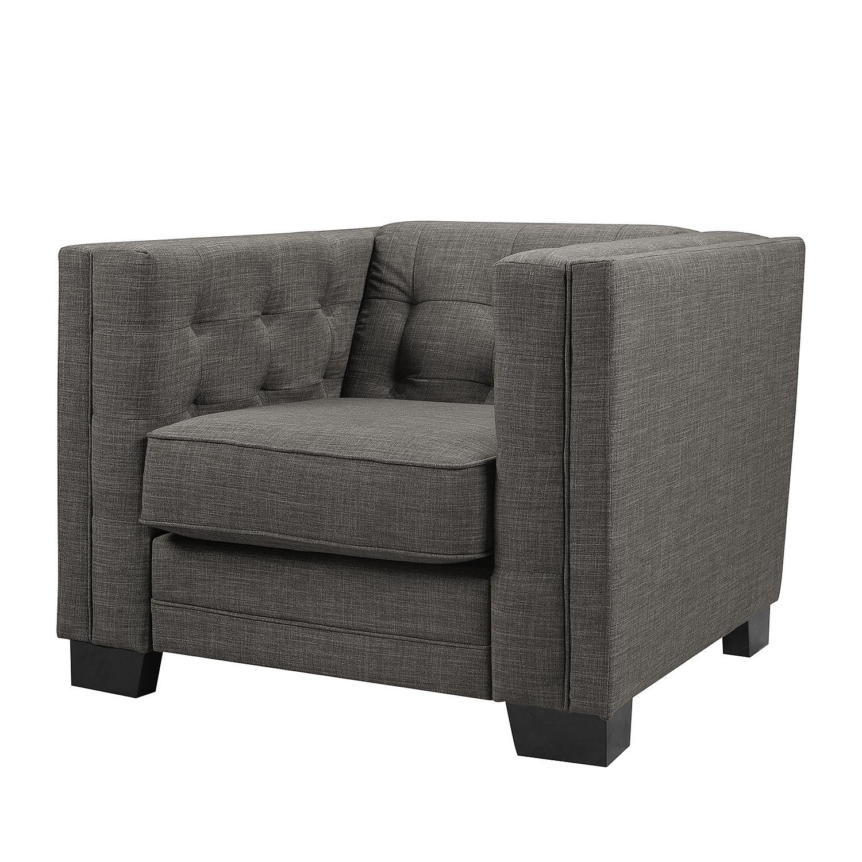 sessel burford webstoff grau maison belfort m bel24. Black Bedroom Furniture Sets. Home Design Ideas