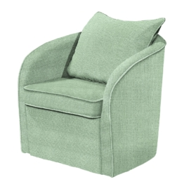 Sessel Marcy Webstoff - Mint, mooved