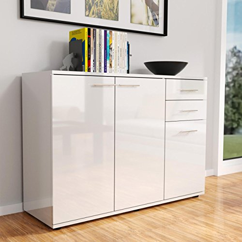 sideboard kommode anrichte mehrzweckschrank standschrank 3. Black Bedroom Furniture Sets. Home Design Ideas