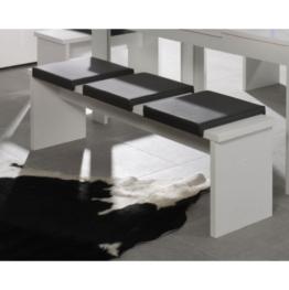 Sitzbank 0585/160 weiss matt -