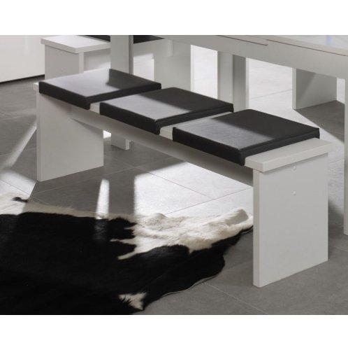 sitzbank 0585 160 weiss matt m bel24 m bel24 online. Black Bedroom Furniture Sets. Home Design Ideas