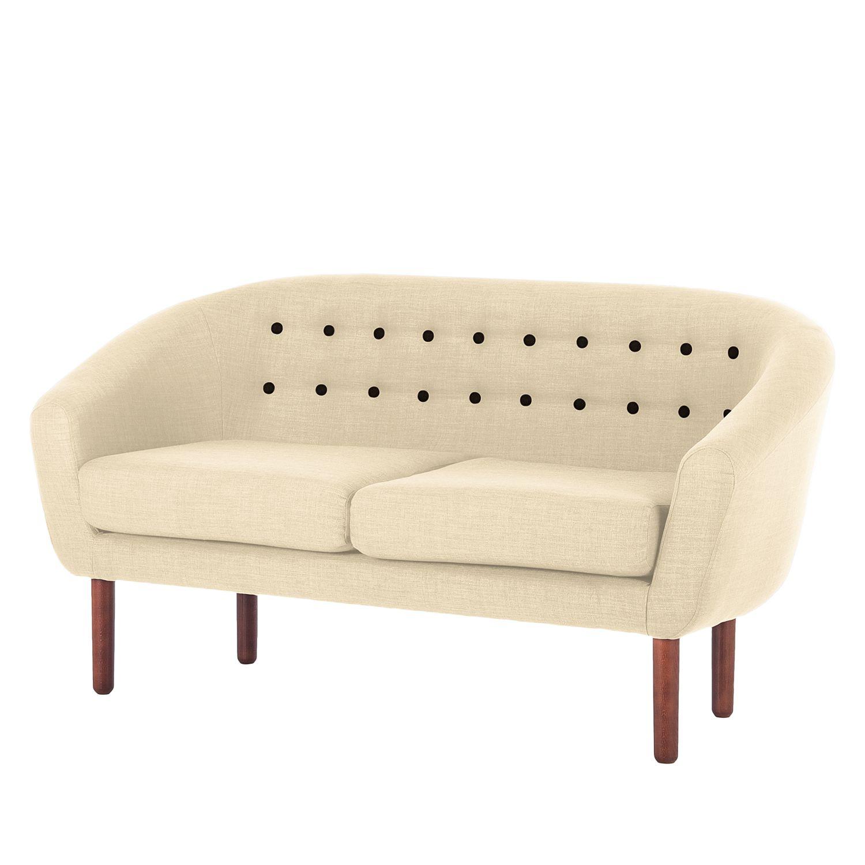 sofa anna 2 sitzer webstoff beige morteens. Black Bedroom Furniture Sets. Home Design Ideas