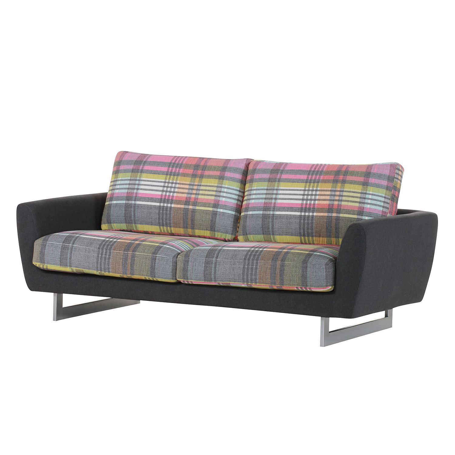 sofa ayanka 2sitzer webstoff multicolor roomscape. Black Bedroom Furniture Sets. Home Design Ideas