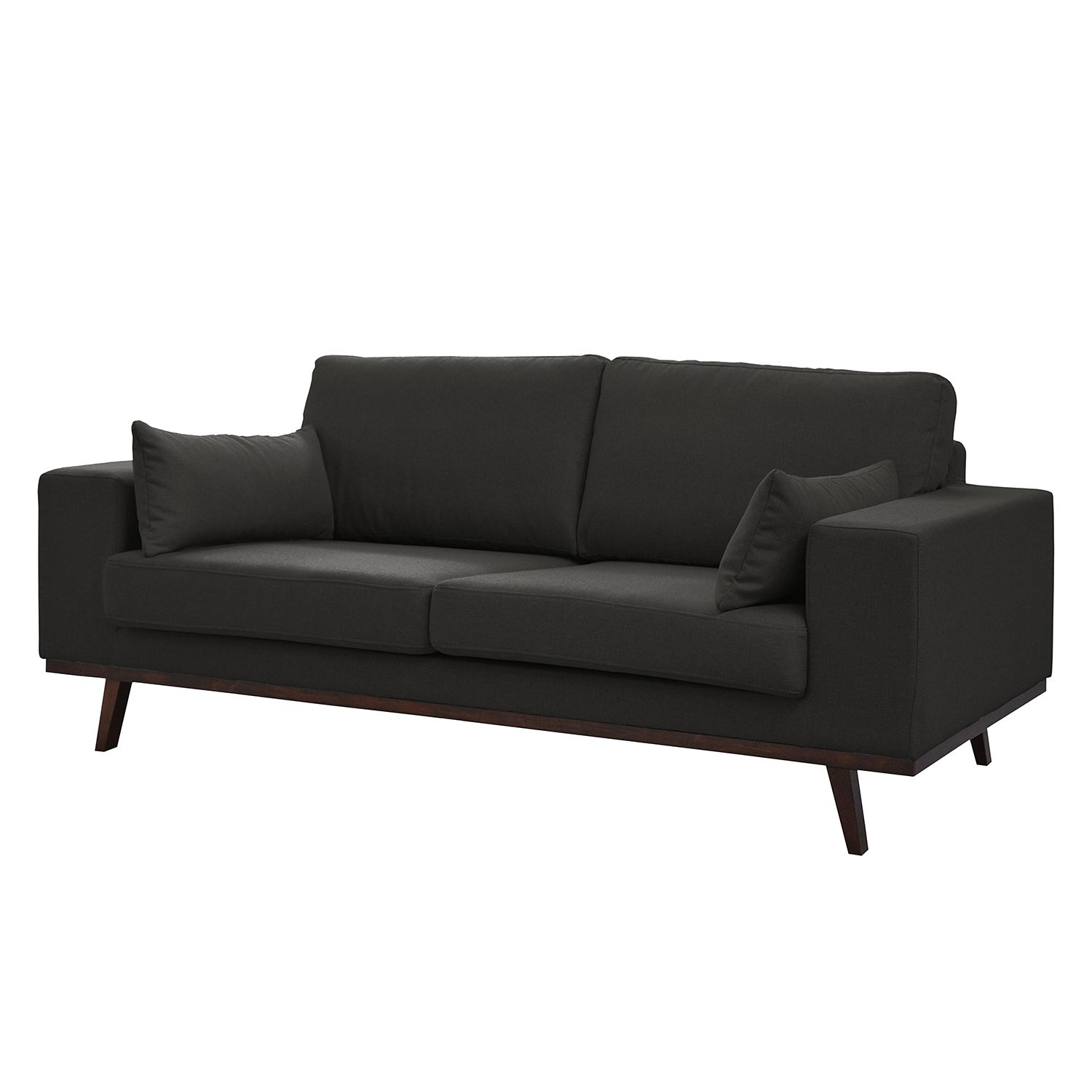 sofa billund 2 sitzer webstoff anthrazit morteens. Black Bedroom Furniture Sets. Home Design Ideas