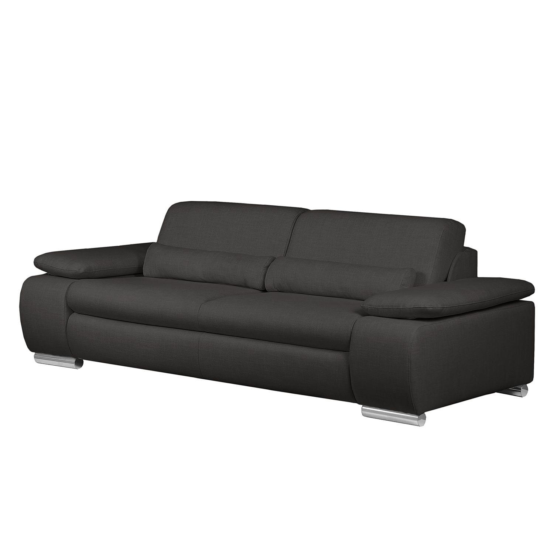 sofa infinity 3 sitzer webstoff anthrazit fredriks. Black Bedroom Furniture Sets. Home Design Ideas