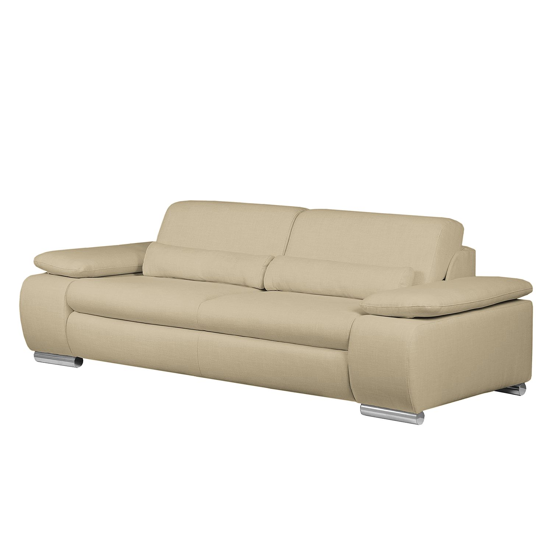 sofa infinity 3 sitzer webstoff cappuccino fredriks. Black Bedroom Furniture Sets. Home Design Ideas