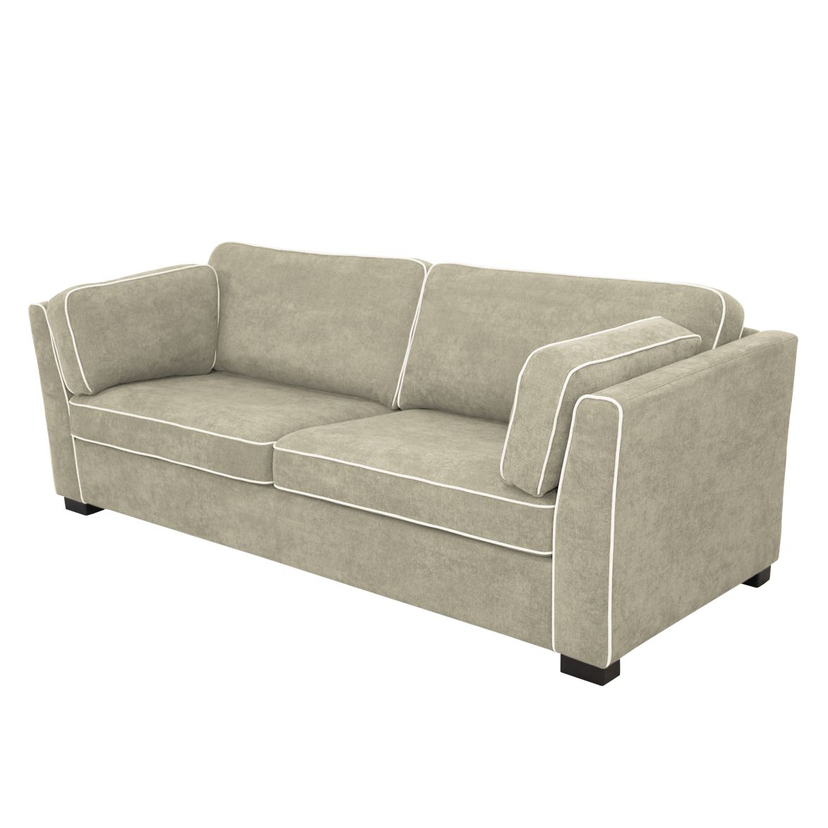 sofa margus 3 sitzer webstoff cappuccino nuovoform. Black Bedroom Furniture Sets. Home Design Ideas