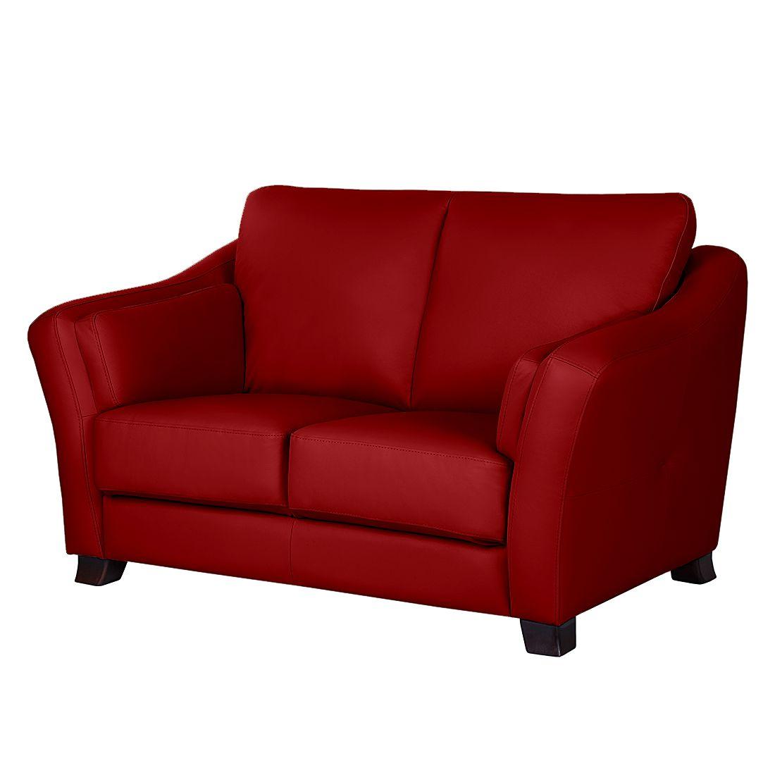 sofa toucy 2 sitzer echtleder rot nuovoform m bel24. Black Bedroom Furniture Sets. Home Design Ideas