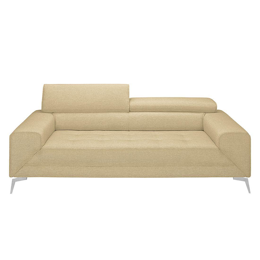 Sofa walden 3 sitzer webstoff beige loftscape for Sofa 7 sitzer