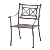 Stapelstuhl Antigua - Aluminium - Bronze, Best Freizeitmöbel