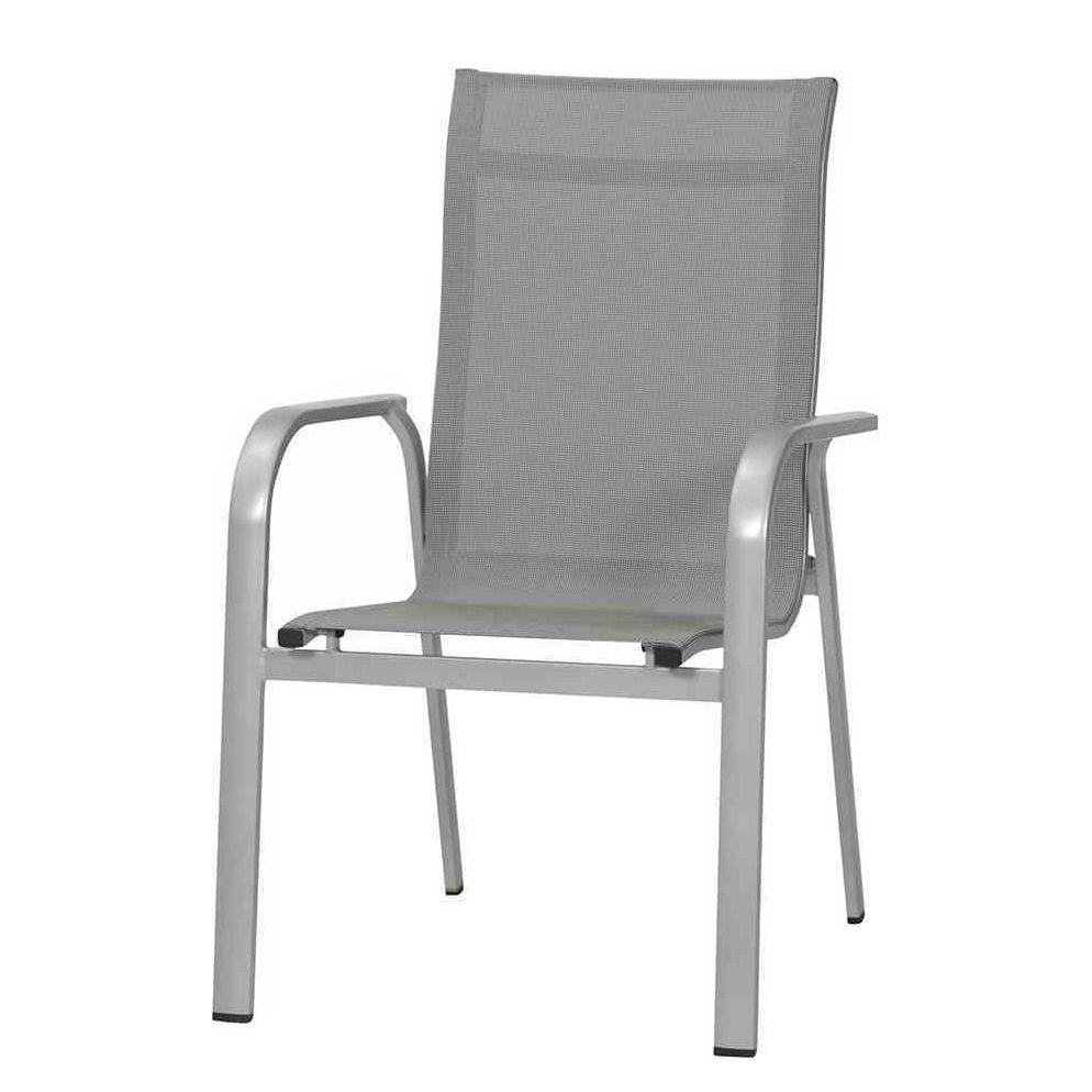 stapelstuhl fabulo kunstfaser aluminium grau mwh. Black Bedroom Furniture Sets. Home Design Ideas
