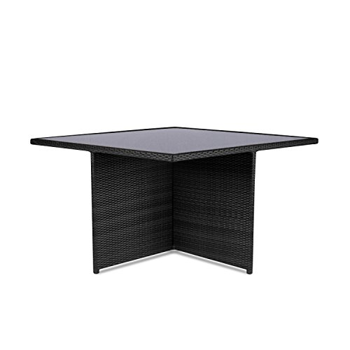 vanage gartenm bel set sydney in schwarz wei rattanoptik polyrattan lounge m bel f r. Black Bedroom Furniture Sets. Home Design Ideas