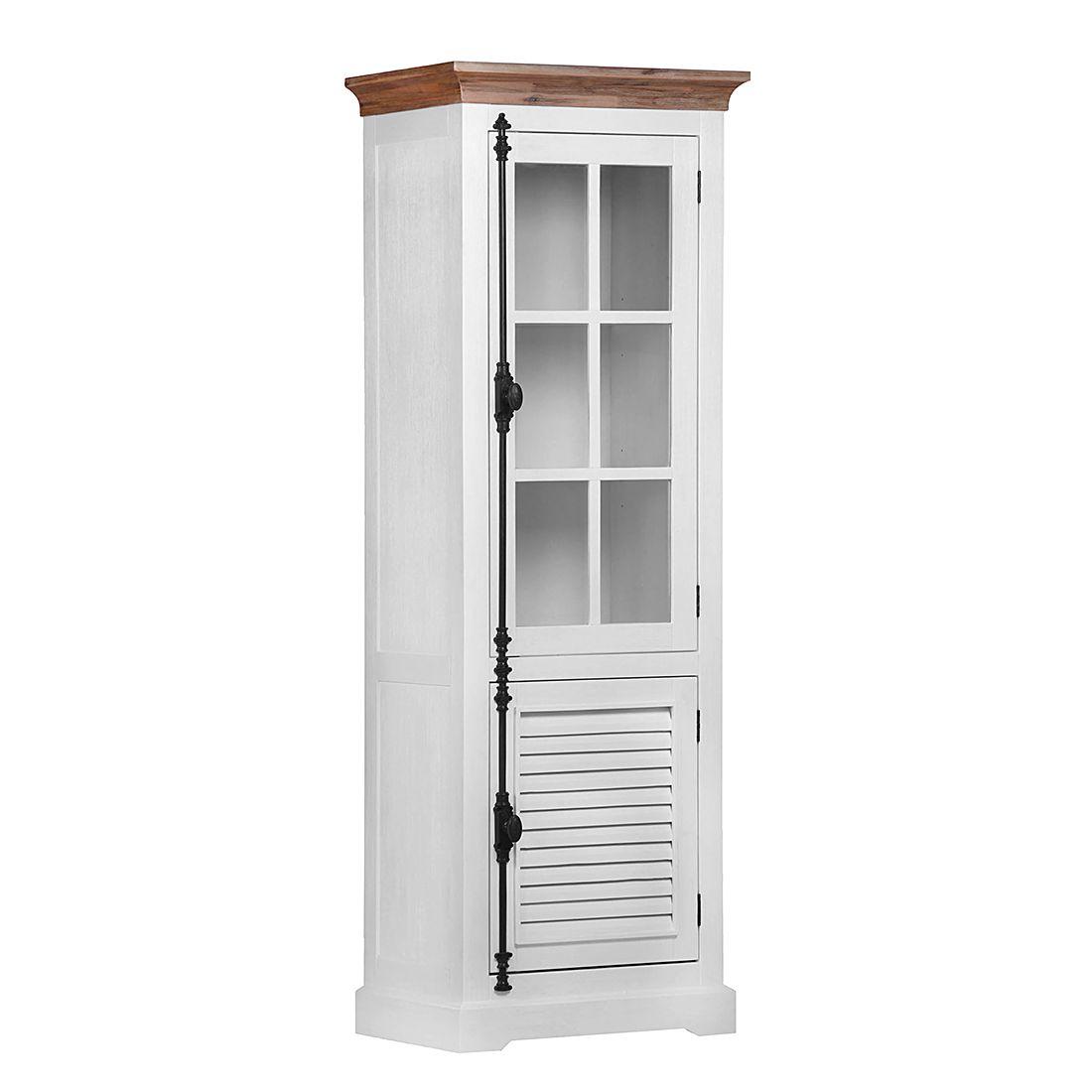 vitrine akazia ii akazie teilmassiv lackiert. Black Bedroom Furniture Sets. Home Design Ideas