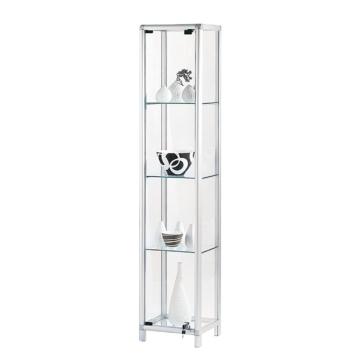 Vitrine Show - Aluminium/Glas - Silber/Klar, Pure Day