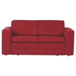 CARRYHOME SCHLAFSOFA Webstoff Rot